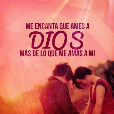 Me encanta que ames a Dios