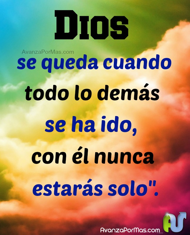 Dios está contigo