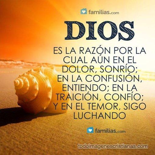 Dios es la razon