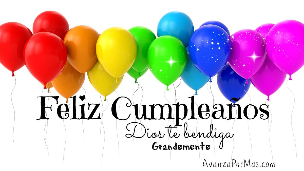 globos feliz cumpleaños