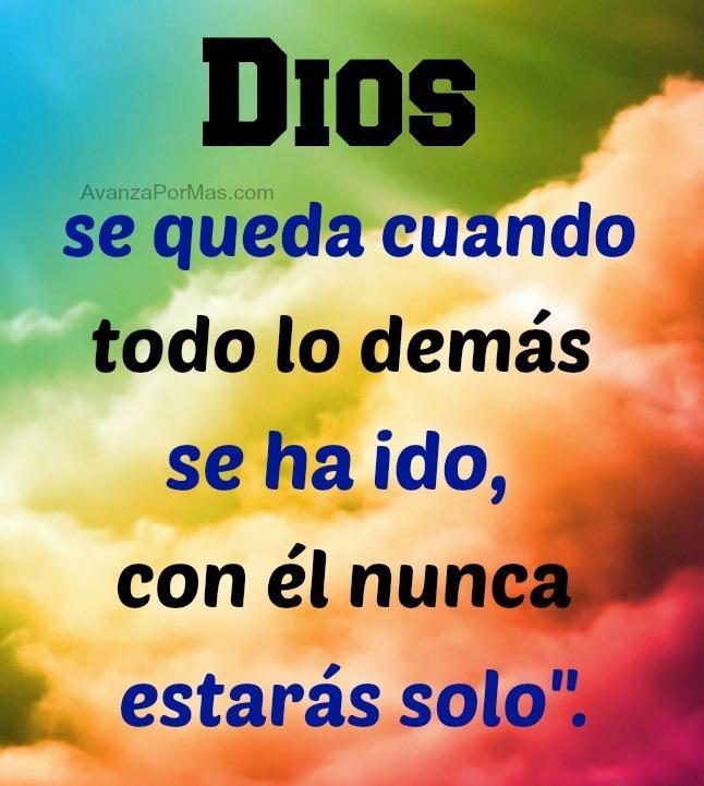 Dios se queda