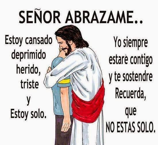 Señor abrazame