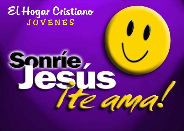 Sonrie Cristo te ama