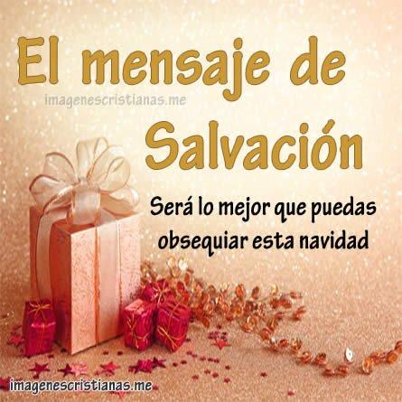 mensaje de salvación