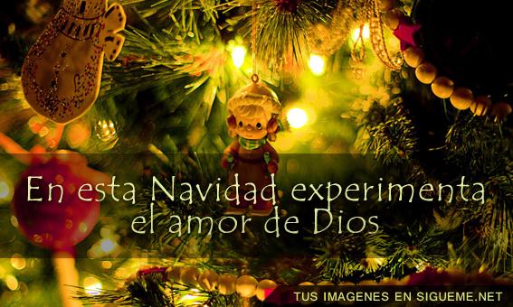experimenta el amor de Dios