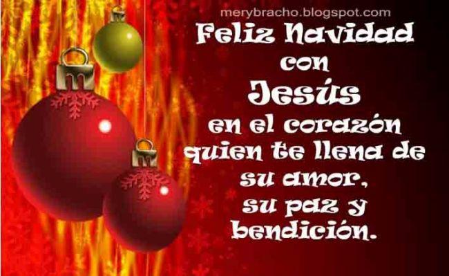 Feliz navidad con Jesús