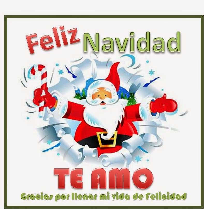 feliz navidad te amo