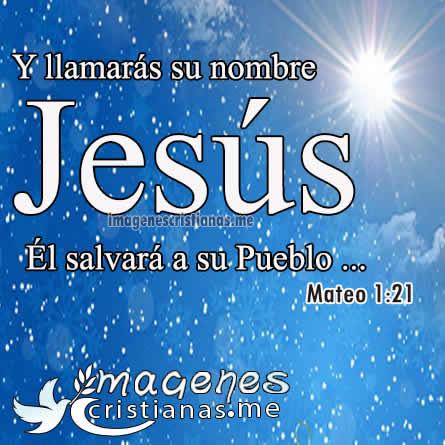 Jesús el salvador del pueblo