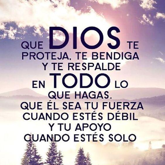 Que Dios te proteja