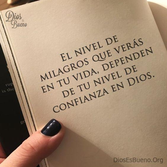 el milagro de Dios en tu vida