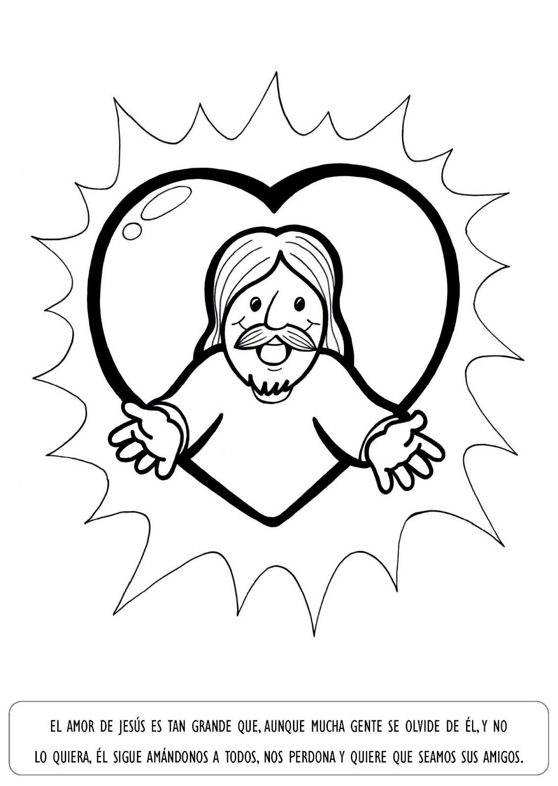 caricatura para colorear