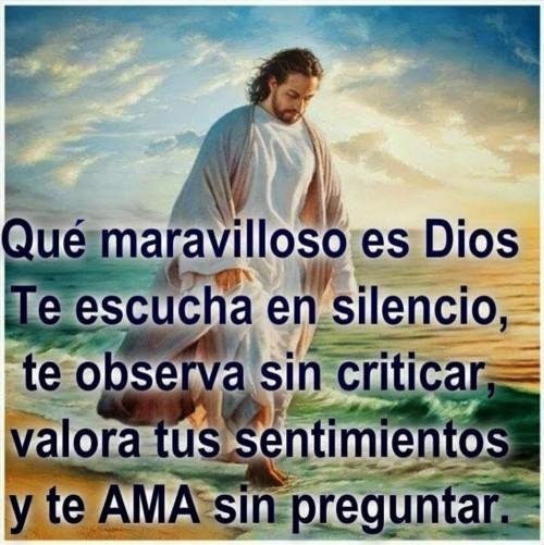 maravilloso es Dios