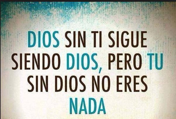 Necesitas de Dios