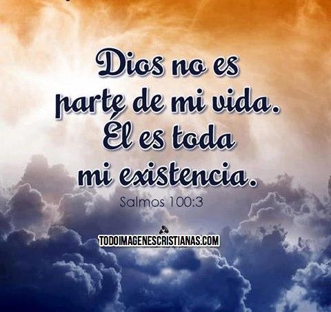 Dios es parte de mi