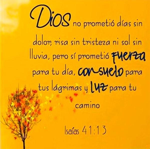 Dios promete paz