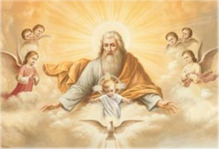Dios y Jesús y Espíritu SAnto