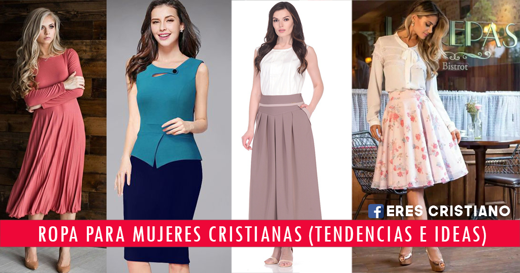 Vestidos de mujeres cristianas