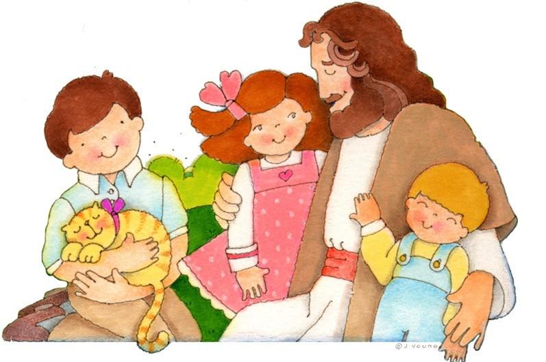 Jesús con niños