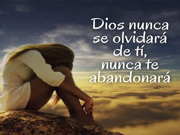 Dios nunca se olvida de ti