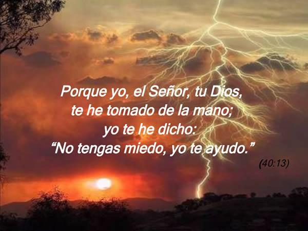Porque yo soy el Señor, tu Dios