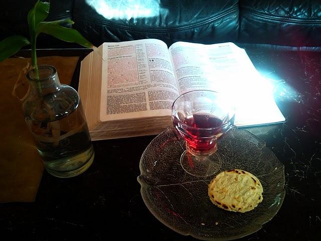 como hacer una ceremonia de la cena del Señor