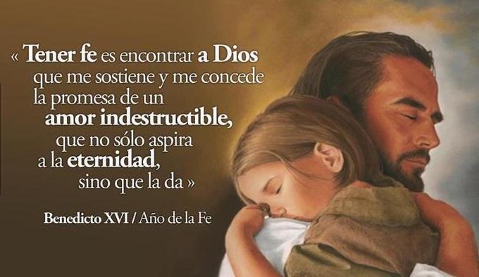 abrazo de Cristo