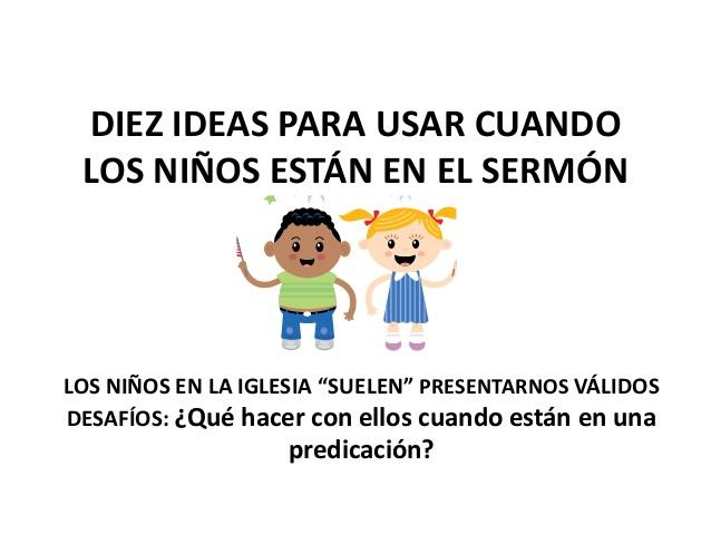 ideas para enseñanza de niños