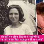 Stephen Hawking y su esposa