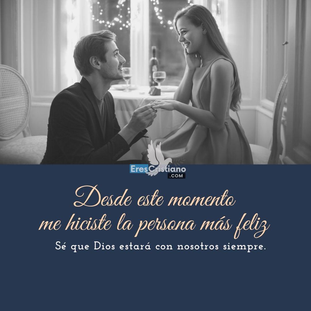 propuesta de matrimonio cristiana