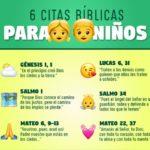 versiculos de la biblia para niños y bebés