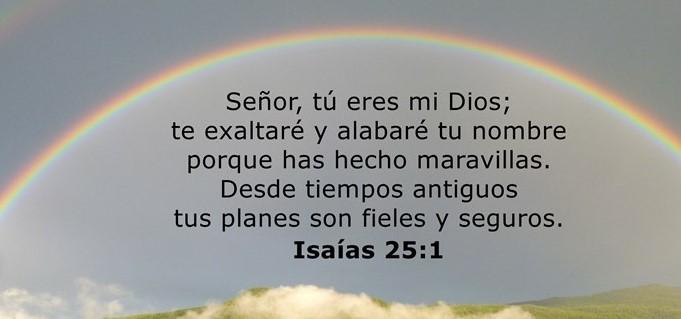 Isaías 25:1