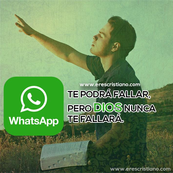 Whatsapp falla pero Dios no