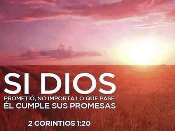 Confia en Dios y sus promesas