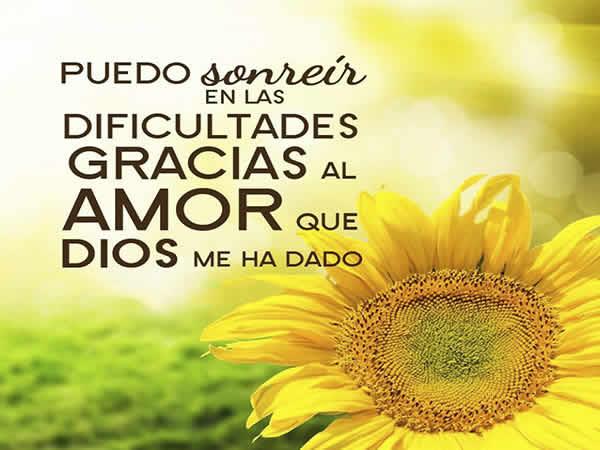 sonríe Dios te ama