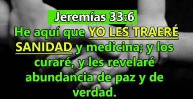 Jeremías 33:6