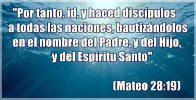 MAteo 28:19