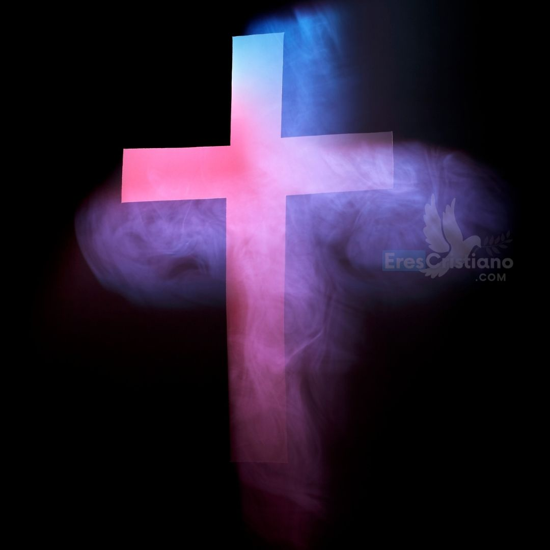 imagen de cruz de color