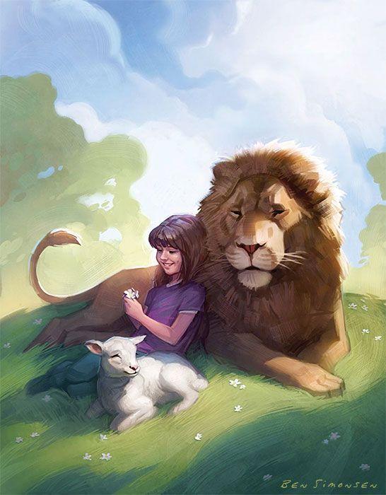 Dios te cuida como un león