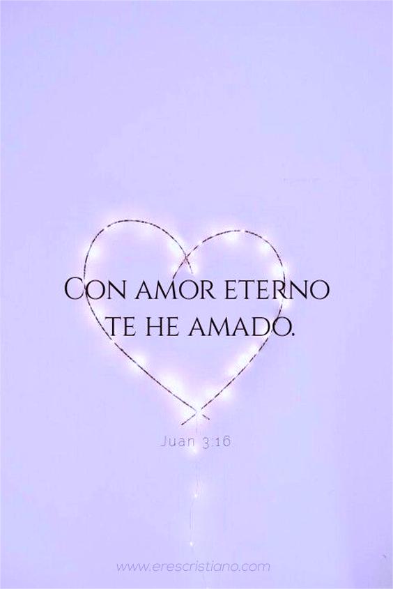 co amor eterno te he amado