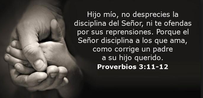 Proverbios 3:11