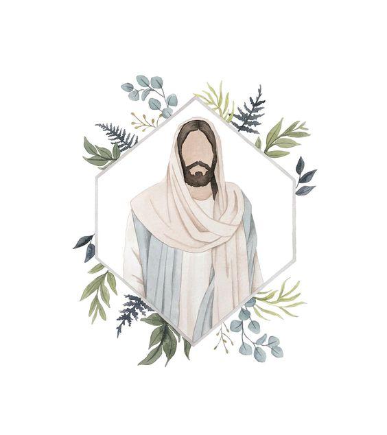 Dibujo de Cristo para mujeres