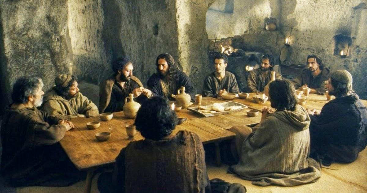 jesus y la santa cena