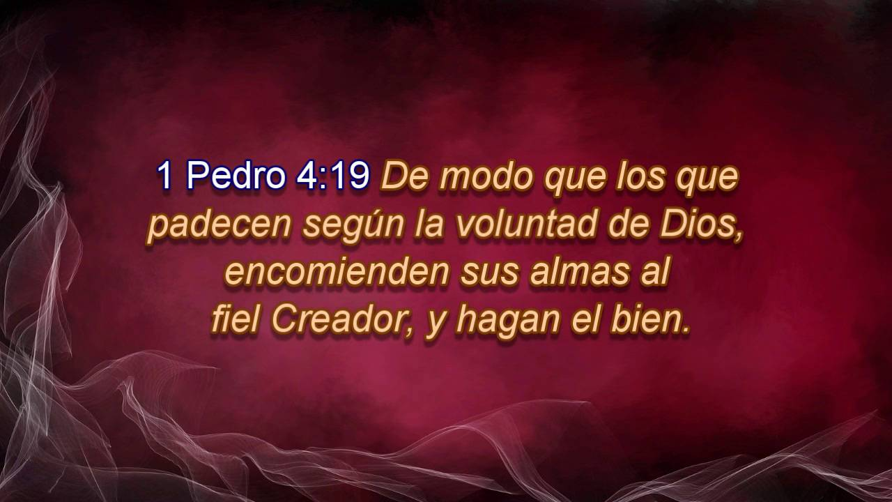 1 Pedro 4:19