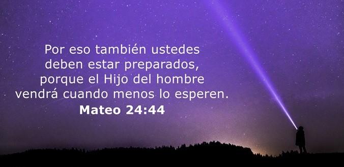Mateo 24:44