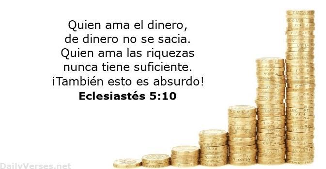 Eclesiatés 5:10
