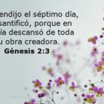 Génesis 2:3