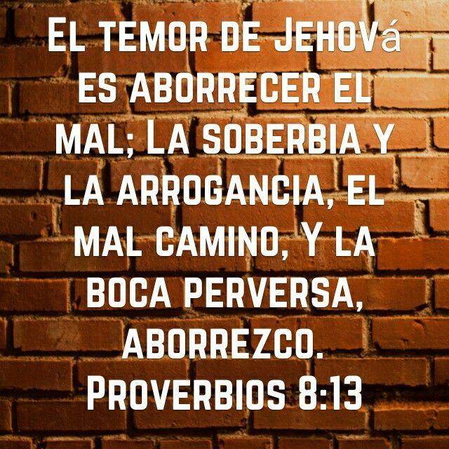 Proverbios 8:13