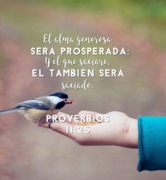 Proverbios 11:25