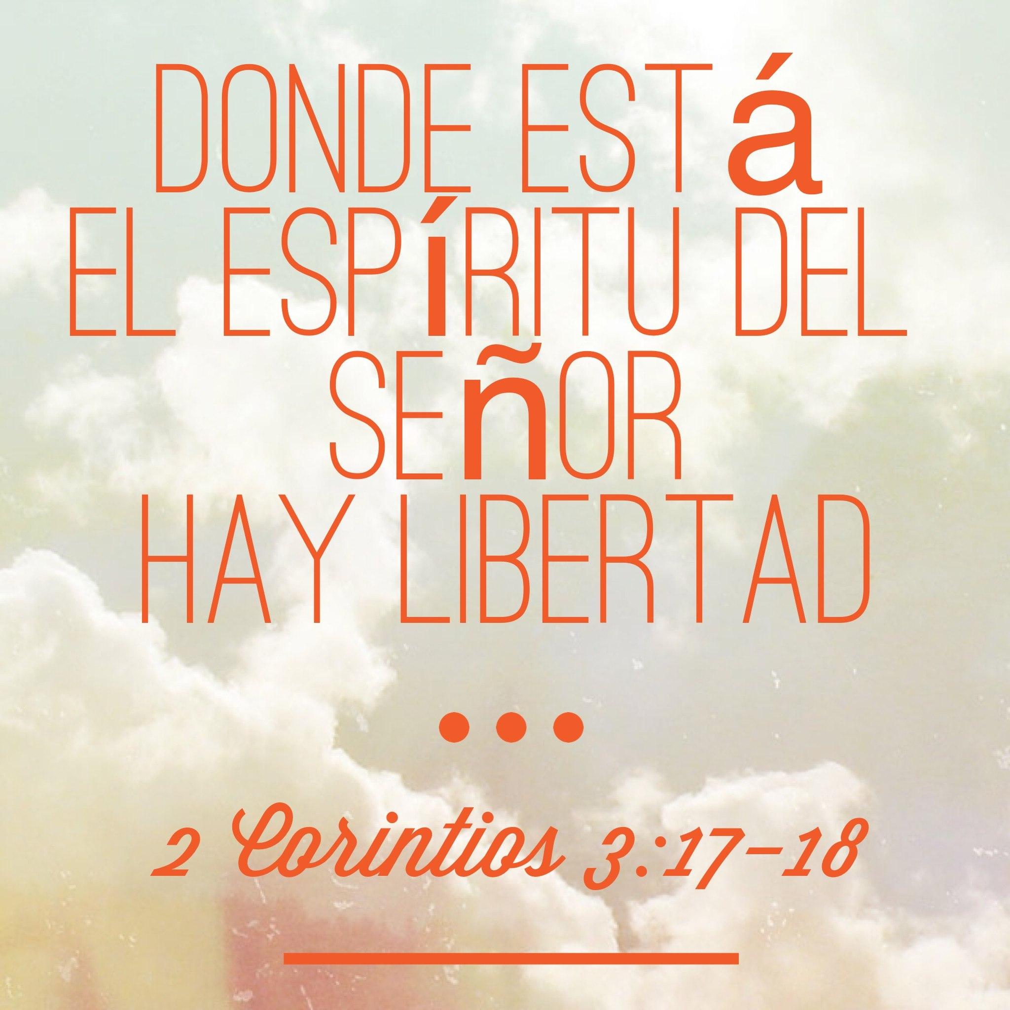 2 Corintios 3:18