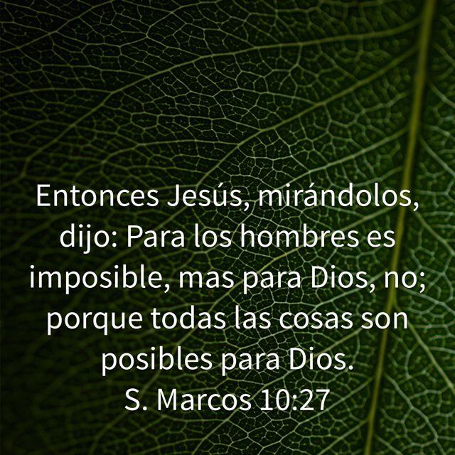 Marcos 10:27